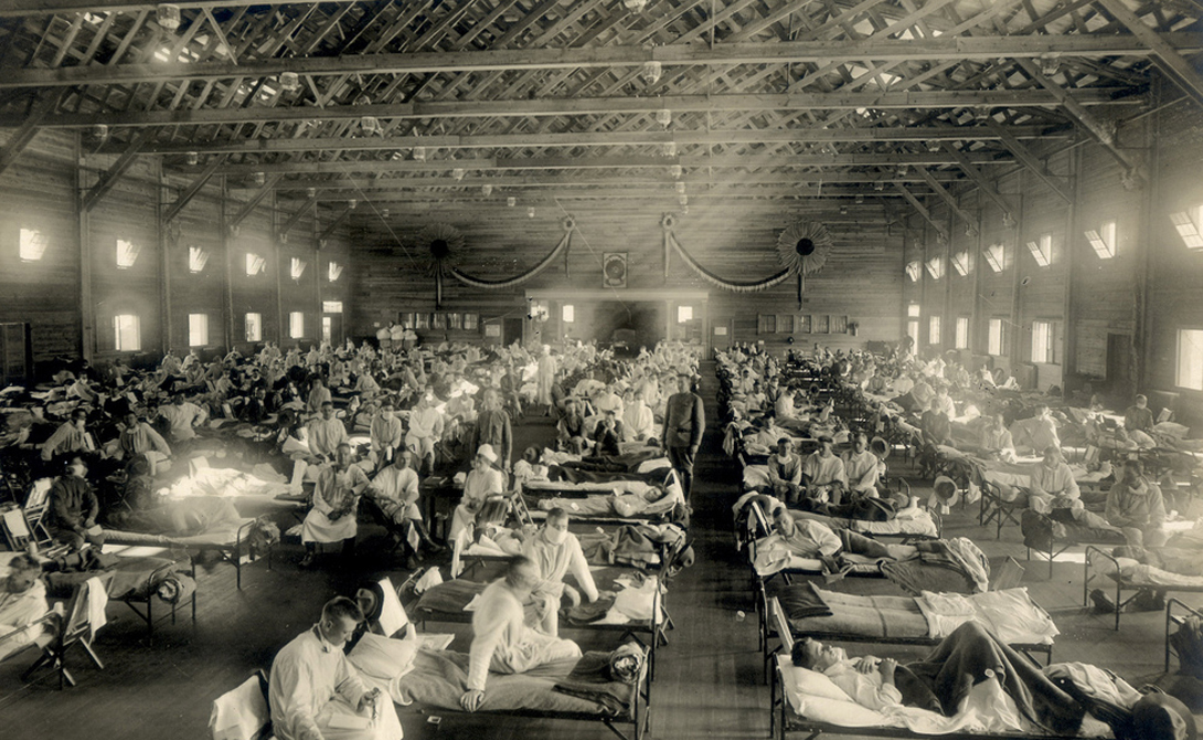 Возвращение Испанки Испанка возникла где-то во время Первой мировой войны и уничтожила 50 миллионов человек по всей планете. Многие погибали спустя всего пять часов после заражения. К началу 20-х годов пандемия сошла на нет, но навсегда ли? Вряд ли. Вспомните птичий грипп 2000-х? А свиной грипп, поразивший людей всего несколько лет назад? Все это — вариации испанского гриппа, что очень беспокоит специалистов.
