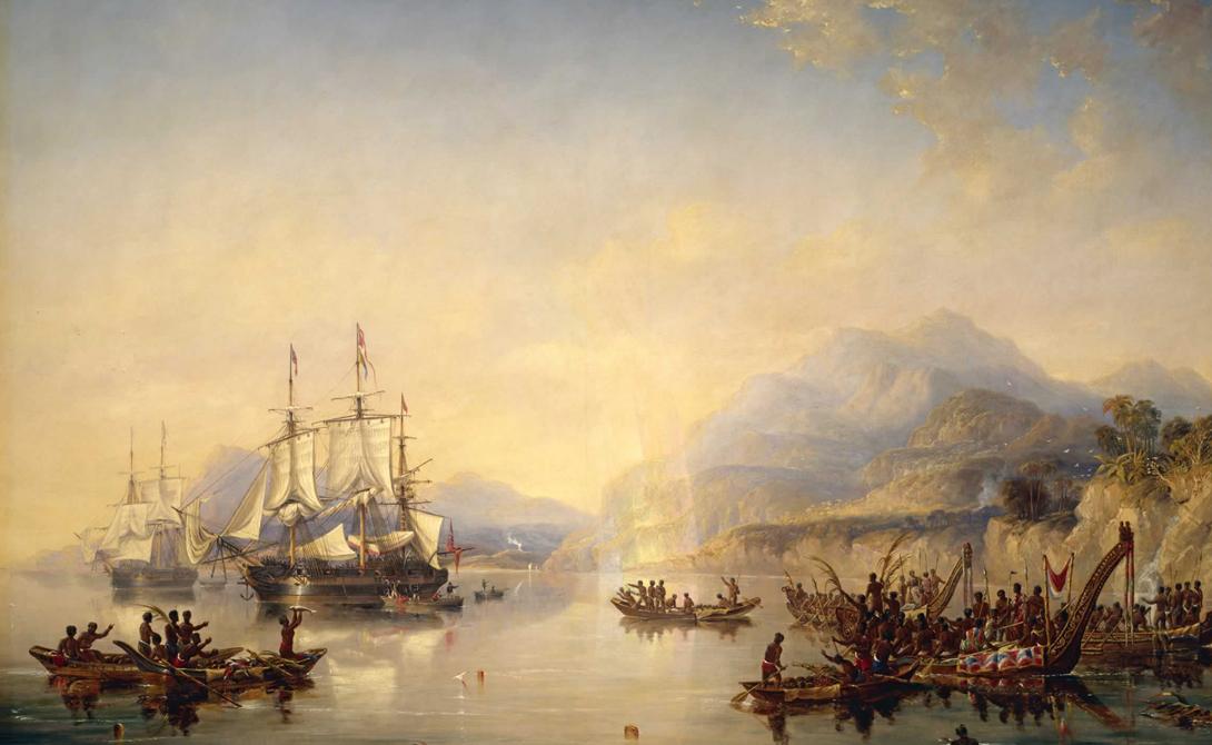Поисковая экспедиция Джеймса Кларка Росса Этот шотландец, потомок нескольких поколений мореплавателей, совершил одну из первых экспедиций к Антарктиде — и даже нашел ее. Впрочем, Росс принял вновь открытые территории за острова и не стал на них высаживаться. Он же открыл крупнейшие антарктические вулканы Эребус и Террор, но так и не смог найти пропавшую экспедицию Джона Франклина. О делах великого мореплавателя незаслуженно забыли все, кроме профессиональных историков.