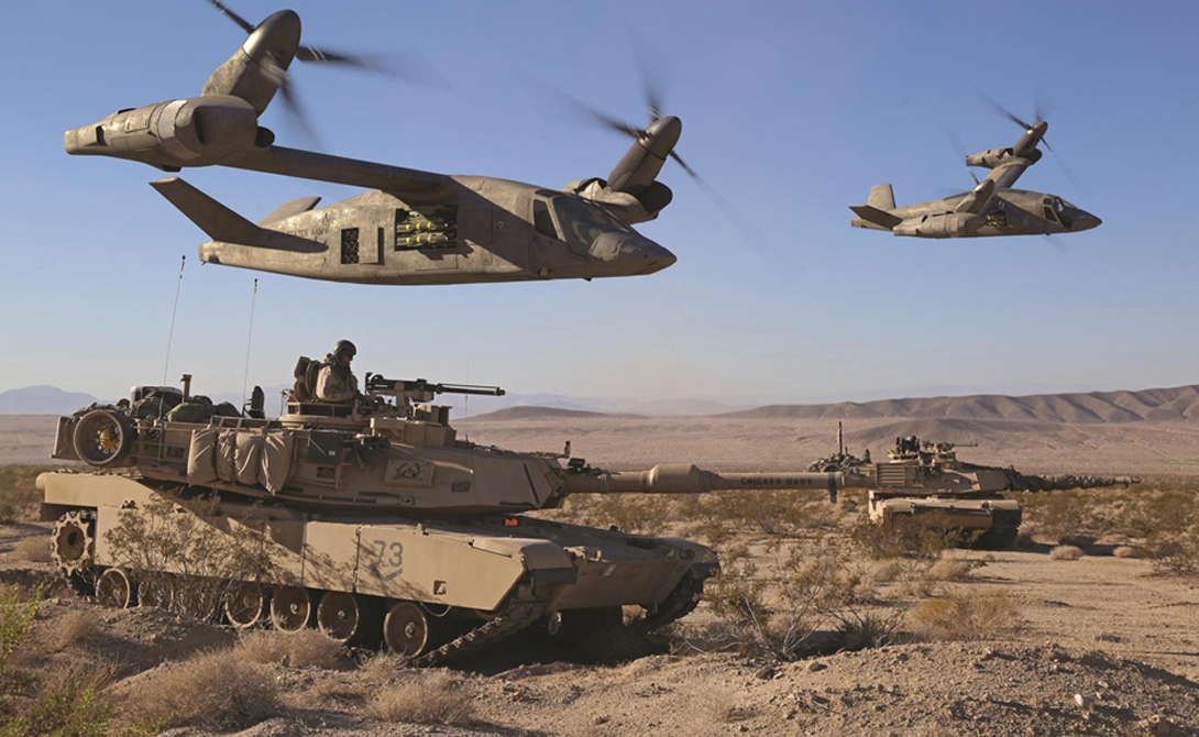Более быстрая, более маневренная машина, которая может освоить значительное расстояние на одном баке топлива, закроет все нужды армии. Такой вертолет будет способен дольше оставаться в воздухе на боевом дежурстве и станет очень эффективной машиной смерти.