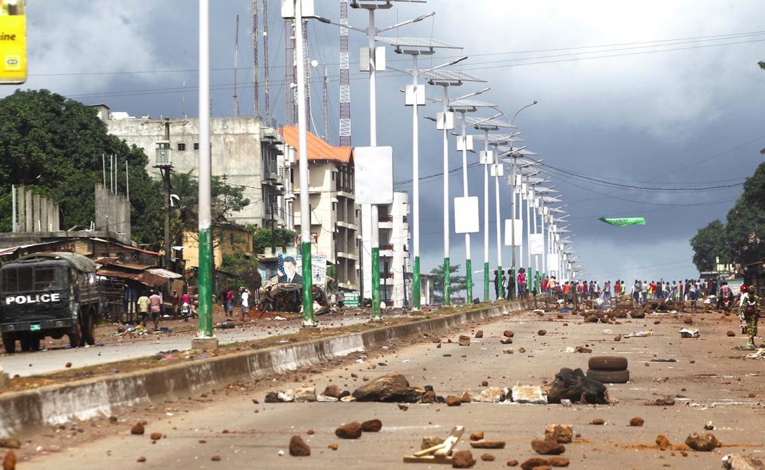 Конакри Гвинея Портовый город, где личная безопасность туриста находится под большим вопросом.
