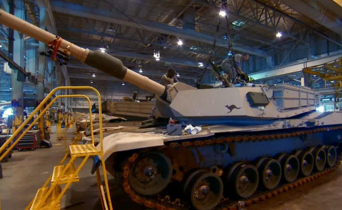 Несмотря на то, что броня была разработана в Великобритании, сами танки собирались в США — их родина заводы в Огайо и Мичигане.