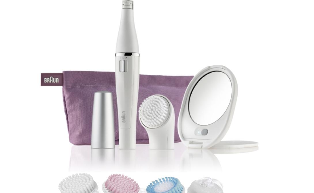 Braun Face Braun Face – это 4 beauty-насадки: основная щеточка для тщательной очистки, насадка для пилинга, щеточка для экстрачувствительной кожи, а также beauty-спонж. Braun предлагает индивидуальный подход и охватывает практически все необходимые процедуры в ежедневном beauty-режиме. От более глубокой очистки кожи лица по утрам и до нанесения крема: Braun Face день за днем делает все для достижения сияющей кожи, свободной от любых несовершенств.
