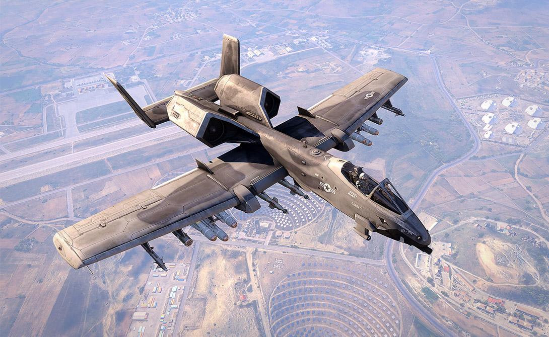 А-10 Thunderbolt II стал первым американским самолетом четкого предназначения: уничтожать бронетехнику противника. Долгое время штурмовик в армии прижиться не мог: уродливый, неуклюжий с виду, он просто не пользовался любовью пилотов. Даже прозвище штурмовика — «Бородавочник» — было обусловлено его внешним неказистым обликом.