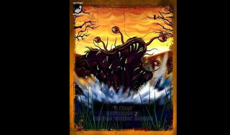 Эль-Куэро Название можно перевести с испанского как «плотоядная коровья шкура». Ареалом обитания это странное создание выбрало предгорья Анд. Судя по описанию, Эль-Куэро могло быть чем-то вроде сухопутного ската, способного выпивать кровь своих жертв и выпрыгивать из воды.