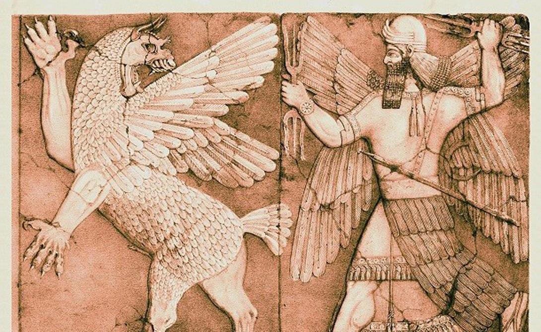 Шаруро Месопотамия Оружие месопотамского бога Нинурта. Булава могла настичь врага в любом конце мира и, к тому же, использовалась для связи с верховным божеством, богом Энлилем.