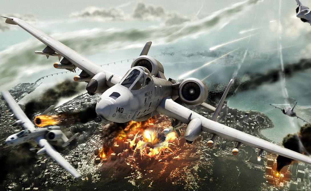 А-10 Thunderbolt II превосходил все аналогичные самолеты по степени защищенности от огня противника. И жизненно важные системы штурмовика, и самого пилота спасала от пуль и снарядов толстая броня.
