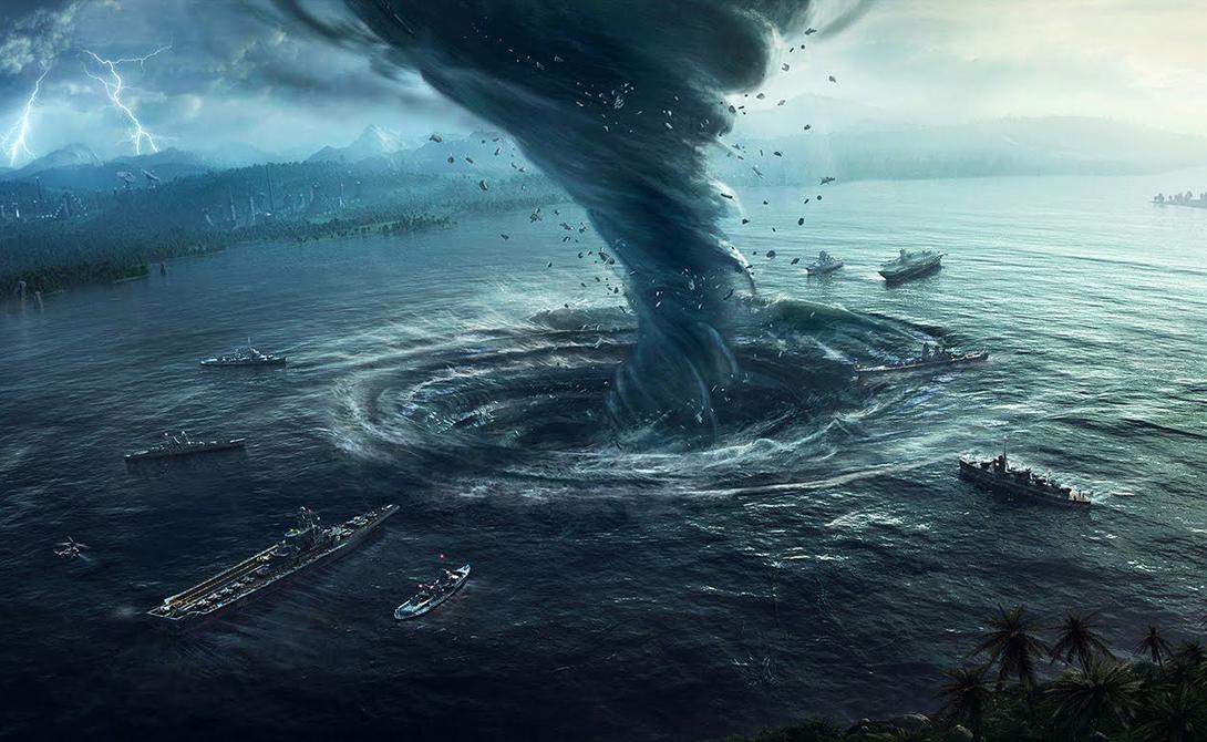 Бермудский треугольник Конечные вершины треугольника — Майами, Бермудские острова и Пуэрто-Рико. Здесь исчезали корабли и самолеты, но ученые до сих пор не понимают причин.