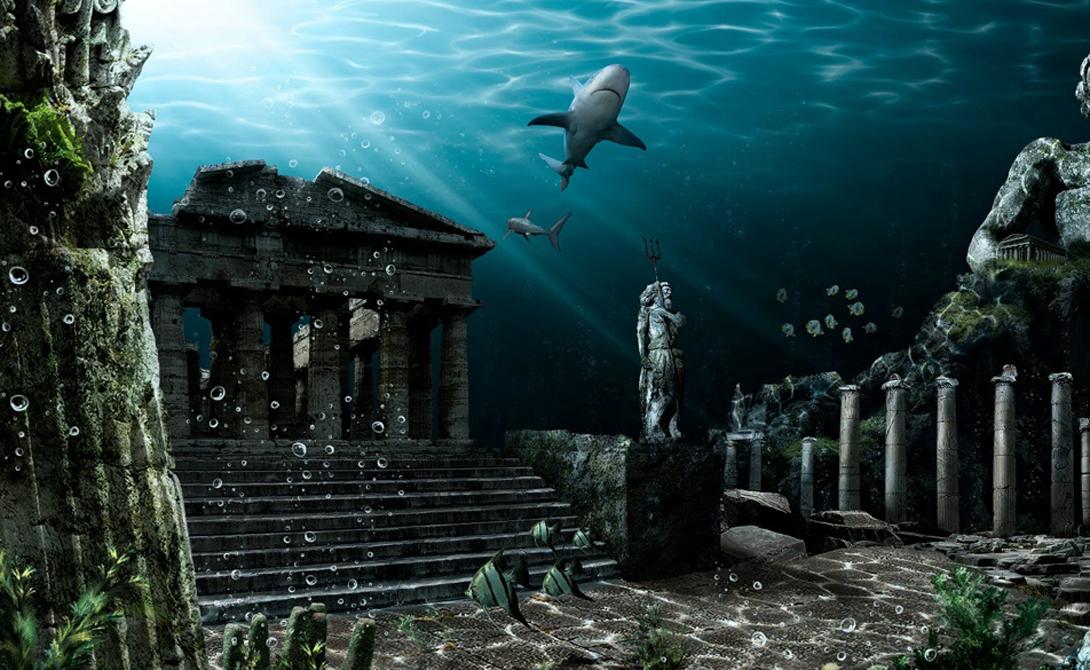 Атлантида Большая часть научного сообщества сходится в единой мысли — Атлантида была всего лишь иносказанием в устах Платона, описывающего идеальное государство. И, тем не менее, поиски затонувшей цивилизации не прекращаются.