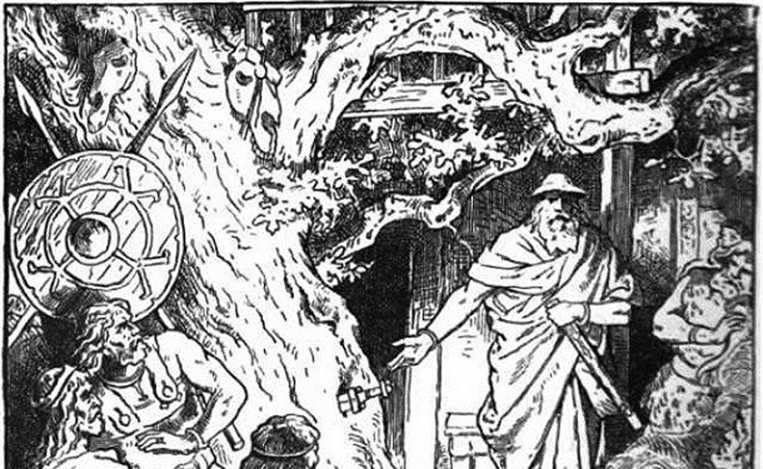 Грам Норвегия Зигмунд вытащил Грам из дерева Барнстокк, куда его вонзил сам Один. Этим мечом Зигмунд сразил ужасного дракона Фафнира, сломав клинок в сердце чудовища. Позднее меч перековали и он вновь обрел свои магические свойства.