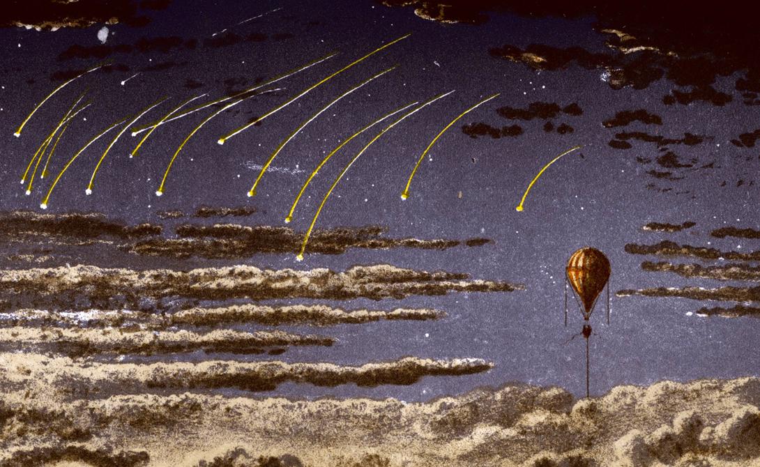 Воздухоплавание на тот момент находилось в довольно зачаточной стадии. Ученые только-только принялись рассматривать воздушные шары как способ изучения неба. В отличие от современных конструкций, баллоны того времени заполнялись легким газом типа водорода.