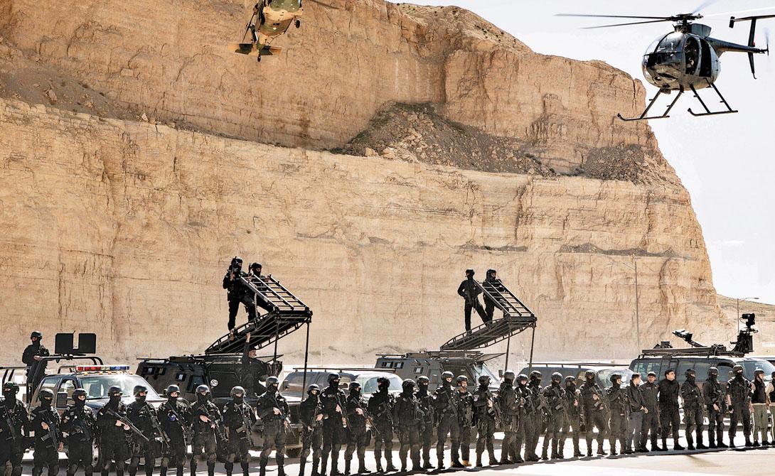 Сформированные в 1965 году иорданские силы специального назначения успели побывать во всех мало-мальски крупных военных операциях этого региона. Солдат готовят для разведки, боевых и контртеррористических операций.