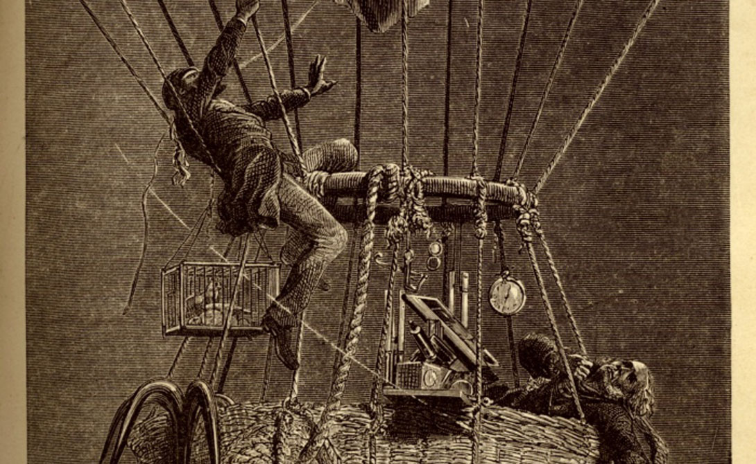 Но температура быстро падала. При -20 исследователи уже не могли видеть приборы, чьи стекла запотели. Коксвелл несколько раз выбирался по снастям наружу и сбивал наледь — более, чем опасное занятие.