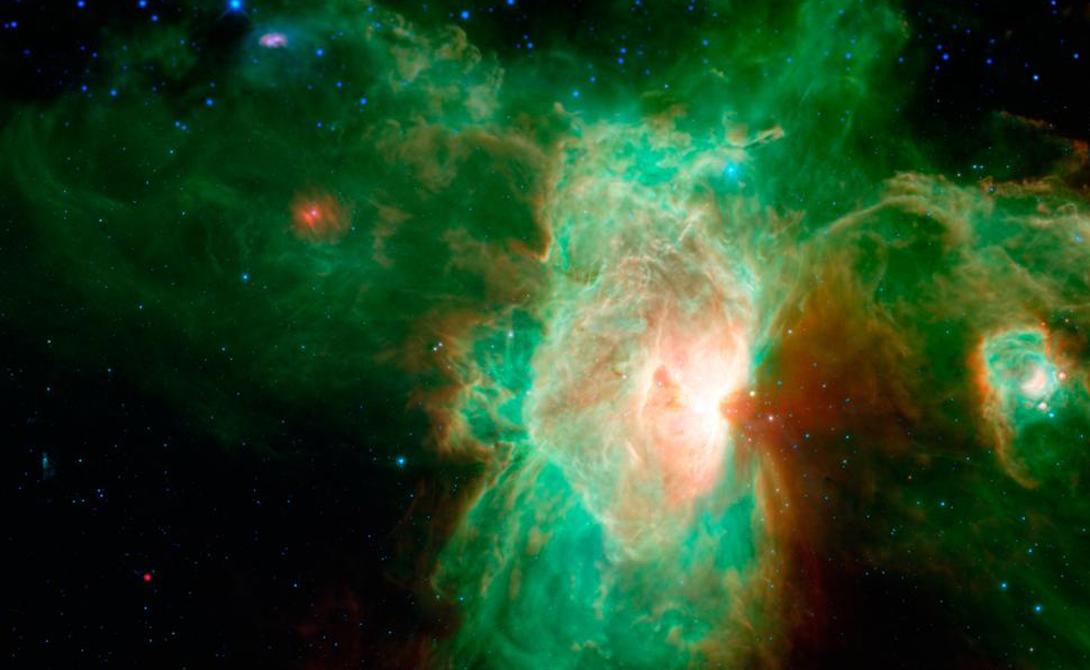На первый взгляд, реакции в космосе происходить не должны, ведь им нужен источник тепла или света. Молекулы, сталкивающиеся друг с другом в холодных, темных условиях, не имеют достаточно энергии, чтобы химическая реакция началась.