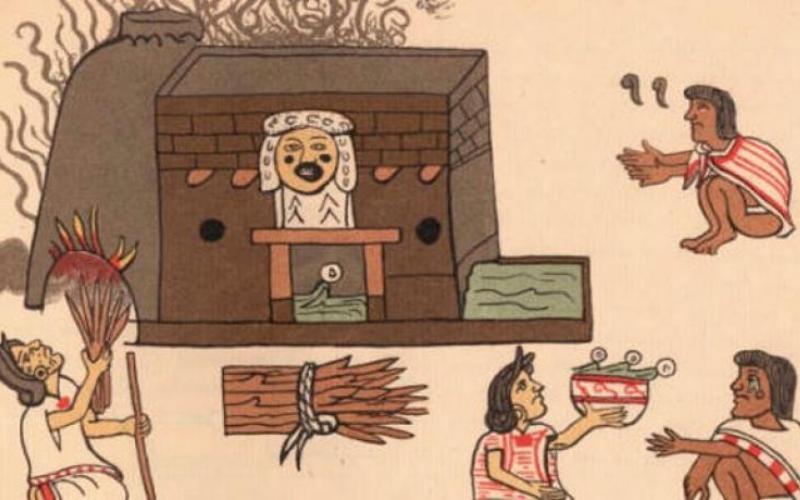 Сауны и бани играли важную роль в культуре майя. Они верили, что омовения помогают очистить их души от зла.