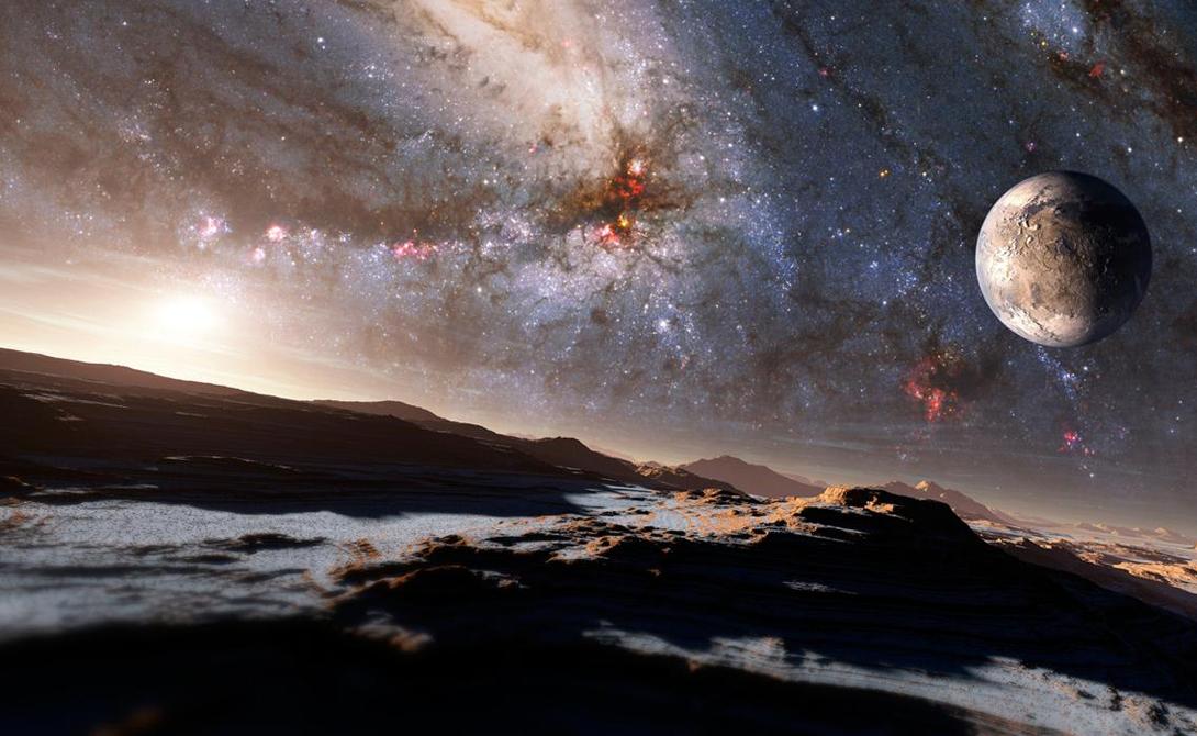Смелая теория говорит о том, что все основные молекулы жизни могут быть образованы в космическом пространстве — а затем ледяные кометы и метеориты заносят их на планеты.