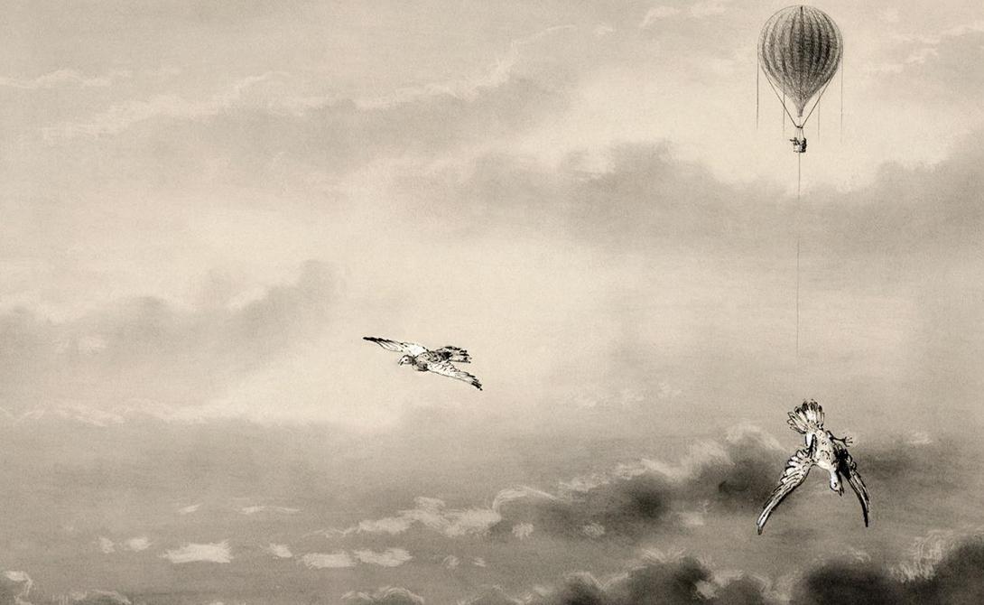 Первую птицу Глэйшер выкинул на высоте в три мили. Ветер оторвал голубю крылья, будто они были сделаны из бумаги. На четырех милях исследователь выпустил еще одного голубя — тот попал в воздушный поток и кружил вокруг корзины, пока не обессилел. Пятимильный рубеж отметился последним голубем: птица упала вниз, будто камень.