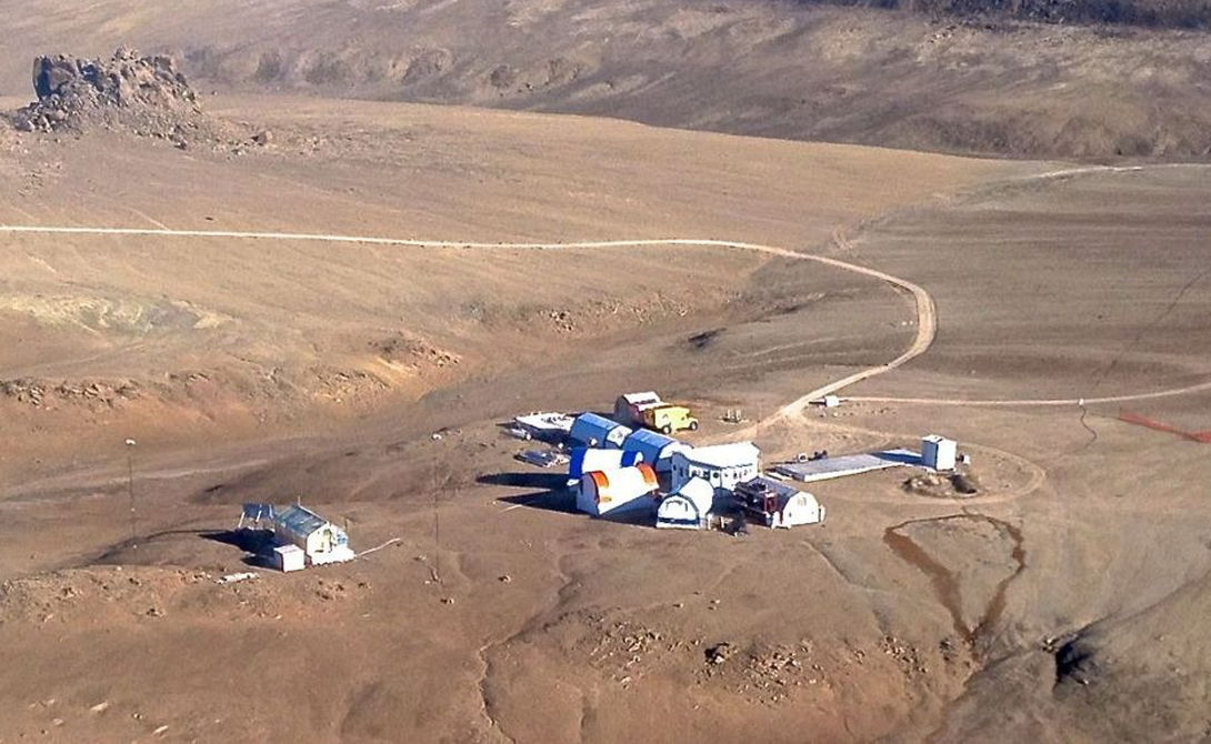 Исследовательская станция Haughton-Mars Project.
