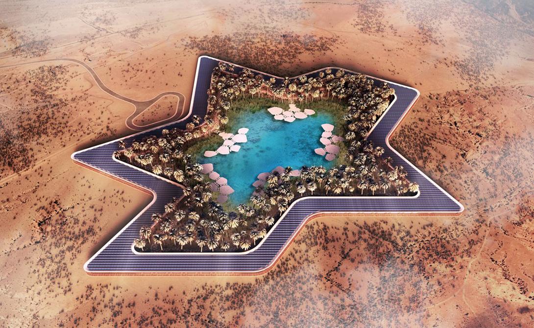 И, само собой, в Oasis Eco Resort будет все, что может позволить кошелек постояльца. Фитнес-центры, спа-зоны, рекреационные комнаты и рестораны, куда планируется пригласить ведущих шеф-поваров мира.