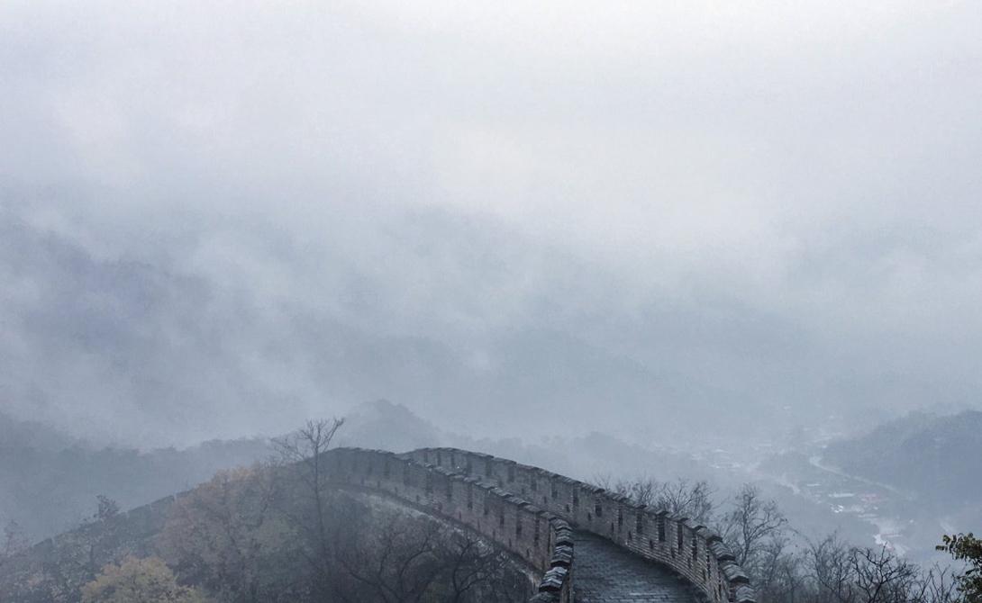Великая Китайская стена, Пекин, Китай Фотограф: Дэвид Ву