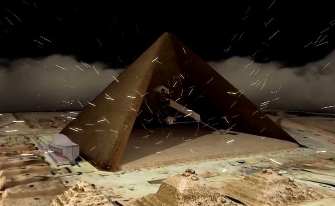 Ожидается, что этим же способом будут просвечены и все остальные пирамиды, которые не могут быть вскрыты физически. Ученые рассчитывают найти ответы на многие загадки — в частности, узнать метод постройки самих монументальных пирамид.