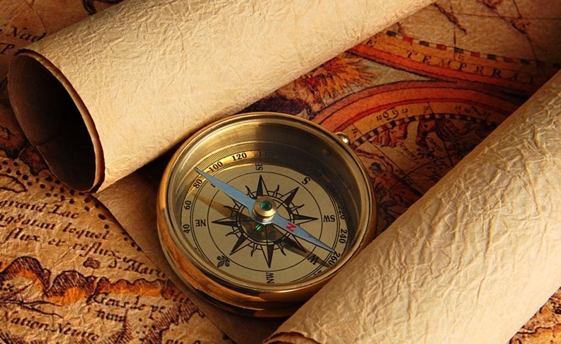 Держите ровно Достаточно важно правильно держать компас. Это несложно: просто положите его на ладонь и поднесите ее к груди, стараясь не наклонять.