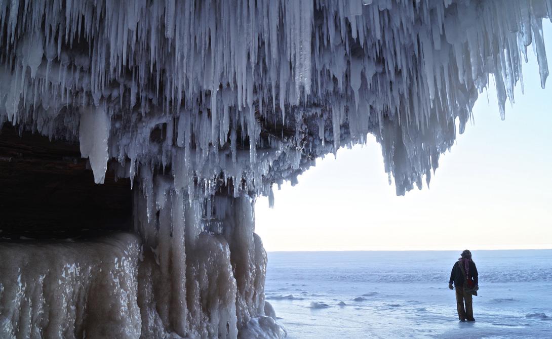 По сути, второе подземельеможет считаться отросткомПещеры Тысячи лет — между ними лишь небольшая перемычка. А выход из подземелья выгляди совершенно сказочным.