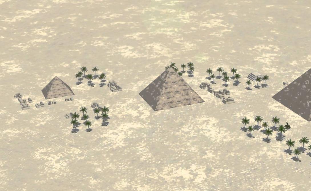 Пирамидам древнего Египта около 4 500 лет. Они действительно выдержали это непростое испытание временем; великие памятники культуры, принадлежащие великой цивилизации.