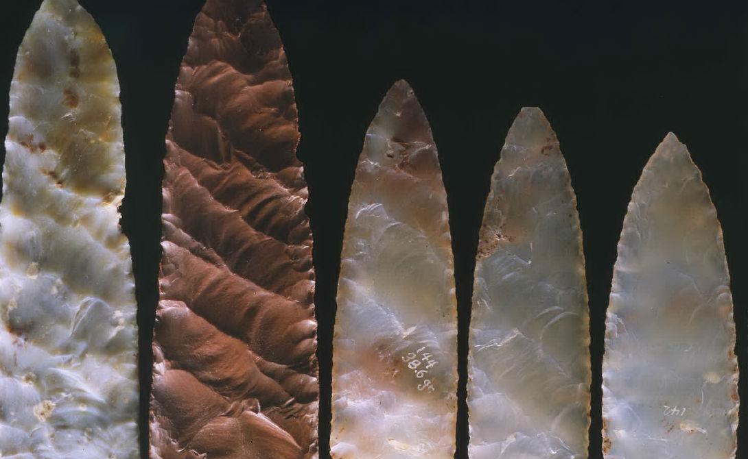Цивилизация Кловис Десять тысяч лет назад центральные равнины Северной Америки населяла крупнейшая доисторическая цивилизация. Люди народа Кловис были непревзойденными охотниками и с легкостью расправлялись с прочими, более мелкими и неорганизованными племенами. Тем более странно выглядит резкое исчезновение этой мощной культуры. Впрочем, некоторые археологи связывают его с внезапным похолоданием.