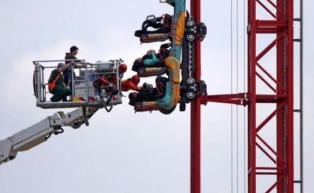 Неудачный день, чтобы побороть свой страх высоты