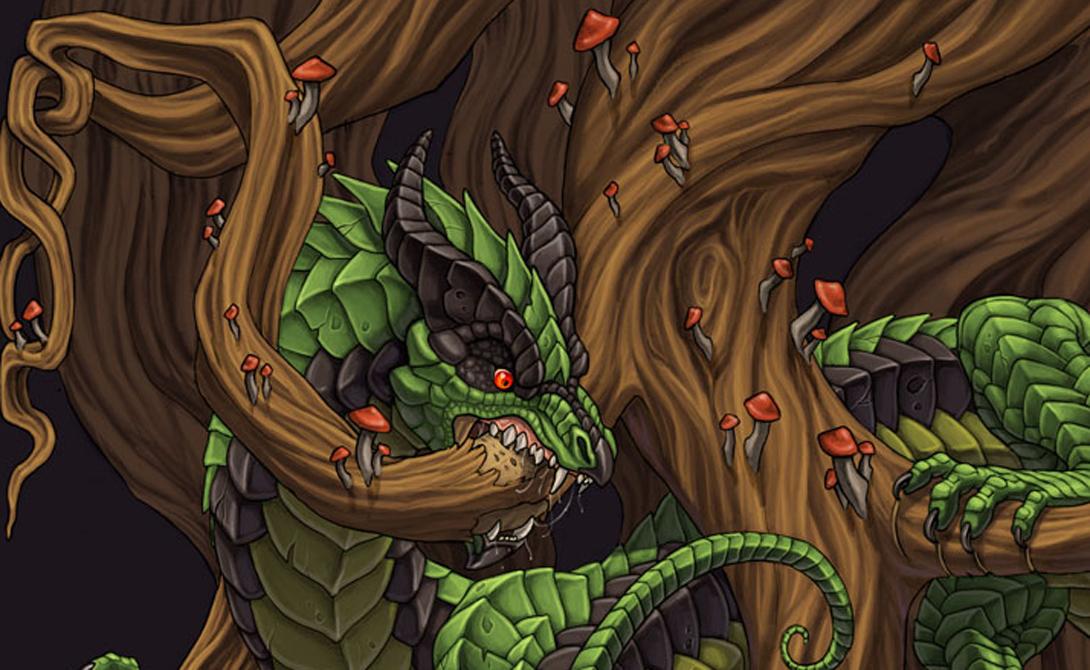 Нидхёгг В скандинавской мифологии Нидхёгг — это дракон, который грызет корень мирового дерева, Иггдрасиль. В историческом обществе викингов этим термином клеймили людей, потерявших честь.