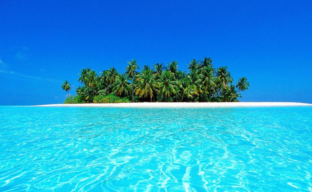 Мальдивские острова Из 1200 мальдивских островов около 1000 остаются необитаемыми. Эти острова, как правило, очень маленькие — всего в пару сотен метров в поперечнике.