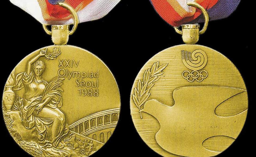 Олимпийское золото состоит из золота всего на 1%.