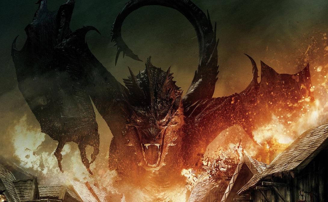 Смауг И, наверное, один из самых популярных драконов мира. Смауг, по уверениям профессора Толкиена, был последним великим драконом Средиземья. Огромное богатство, скопленное Смаугом в недрах Одинокой горы, привлекло к нему жадных гномов, убивших дракона из меркантильных соображений.