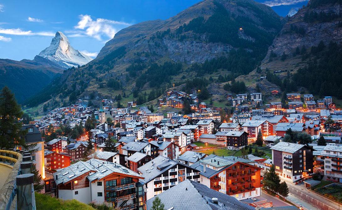 Швейцария Знаменитый нейтралитет Швейцарии сделал страну одной из самых безопасных во всем мире. Отсутствие внутренних и внешних конфликтов, высокий уровень дохода и высокий уровень защиты — что еще нужно для удачного путешествия.