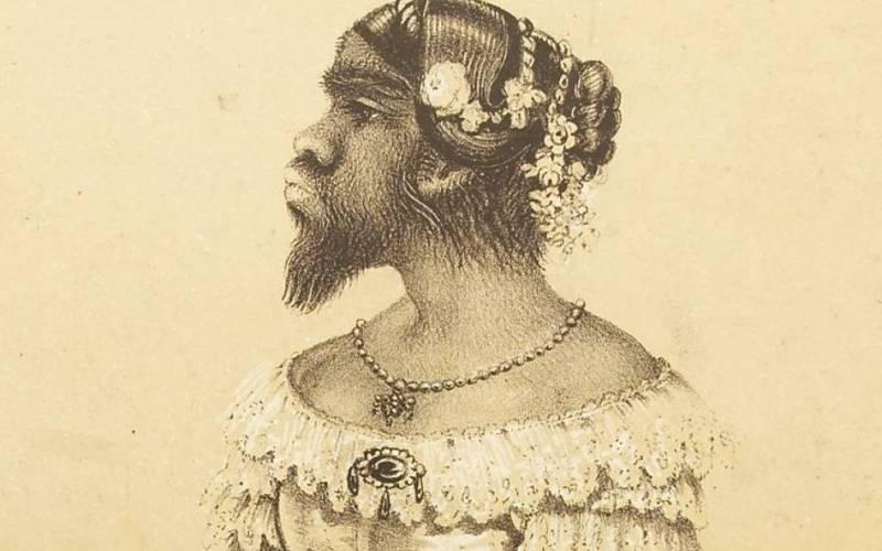«Неописуемая» Юлия Пастрана Самое любопытное, что известно о Юлии Пастрана, является то, что большую часть ее жизни ее не считали представителем человеческой расы. В целом ее жизнь полна тайн и загадок, так как не сохранилось практически никаких документов, описывающих ее. Историки полагают, что она родилась в западной части Мексики, и начала свою карьеру в Нью-Йорке под псевдонимом «Женщина-медведь». Когда она стала выступать на Бродвее, реакция на нее была, как правило, очень жестокой: люди в зале, видимо, приходили в ужас от того, что она выглядела как монстр, но при этом пела как ангел.