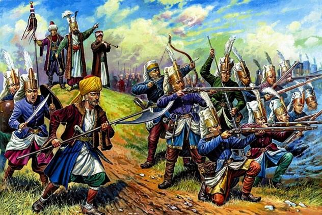 Янычары Эта традиция была очень распространена на заре становления Оттоманской империи. Специально обученные люди со всей страны собирали насильно молодых мальчиков, чтобы передать их на службу стране. Жители Греции и Балкан вынужденно отдавали своих отпрысков — тех вели в Стамбул, где самых сильных превращали в мусульман и заставляли поступать на военную службу. Корпус янычар давал отличную возможность возвыситься — и такую же отличную возможность погибнуть во время суровых испытаний. Традиция сгинула примерно в 18 веке, когда служба янычаров превратилась в наследственную.