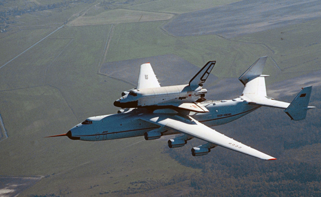 Aircraft The transport aircraft is designed to carry super-heavy loads.  It is these giants that bring tanks on the battlefield, and in peacetime can move from place to place even a small dismantled plant.  The largest cargo plane in history is still the AN-225 built in 1988.