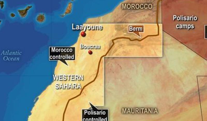 Западная Сахара Марокко и Испания Бывшая испанская колония Западной Сахары на северо-западе Африки находится в состоянии политической неопределенности. Испания вышла из области в 1976 году, чем тут же воспользовалось Марокко, аннексировавшее около 259,000 квадратных километров, довольно богатых природными ресурсами. Эту акцию не признали на международном уровне, что не мешает предприимчивым марокканцам продолжать добывать полезные ископаемые. Последнее столкновение случилось в 2010 году: несколько человек погибли в в результате ожесточенных боевмежду марокканскими силами безопасности и демонстрантами.