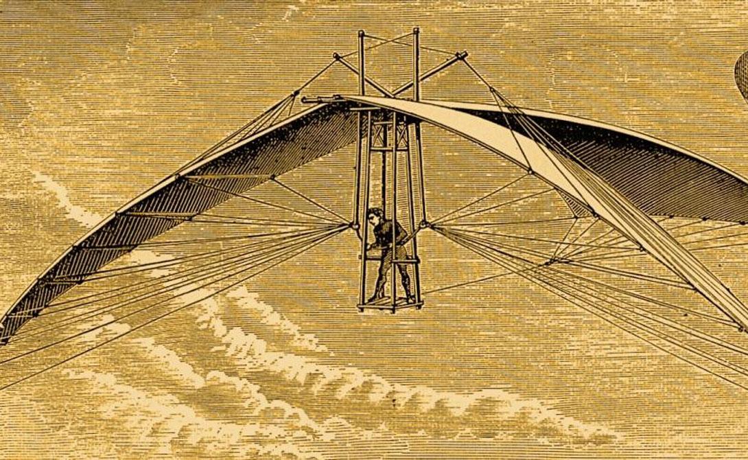 Орнитоптер Самую раннюю концепцию орнитоптера разработал Леонардо да Винчи еще в XV-ом веке. Великий мастер вдохновлялся полетом птиц, летучих мышей и насекомых: его модель умела находиться в воздухе до трех минут. В 1894 году Отто Лилиенталь, немецкий пионер авиации, осуществил первый пилотируемый полет на орнитоптере.