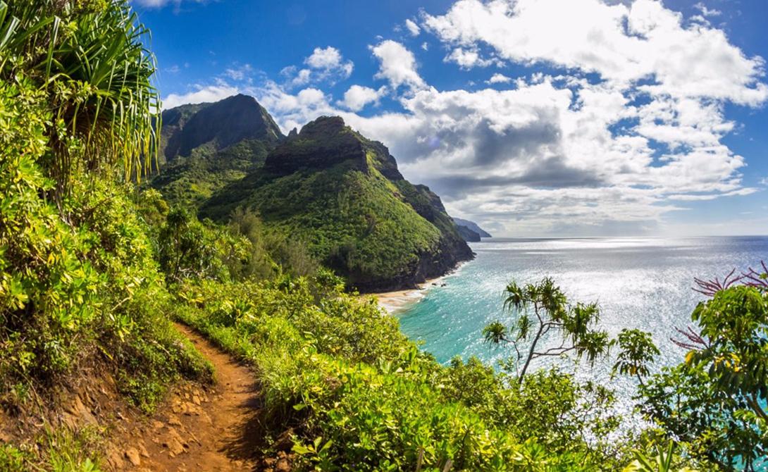 Калалау Трэйл Гавайи Гавайи остаются одним из самых потрясающих местечек на всей Земле. Восхождение по Калалау потребует у вас дня времени и небольших усилий — а взамен даст уникальную возможность одним взглядом окинуть и океан, и весь островок.