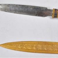 Нож Тутанхамона: металл появился из космоса
