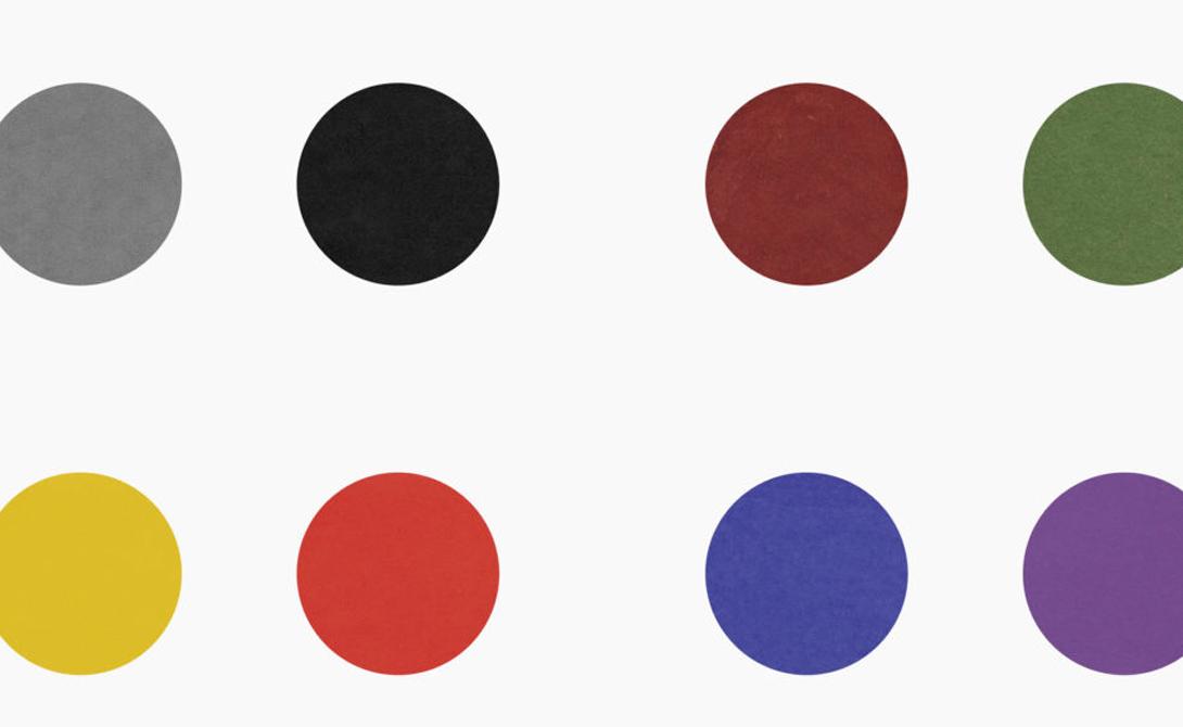 Эмоциональный тест Первые цветные тесты появились в 1947 году.Психологи считали, что они могли бы получить полное эмоциональное и психическое состояние пациента, определив их отношение к обычным цветам. Фиолетовый, к примеру, считался явным признаком депрессии.
