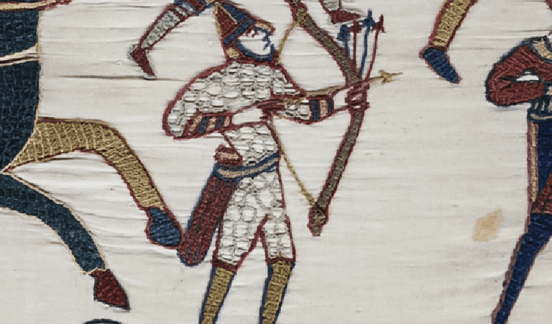 Луки Почти в каждом фильме, где есть сцена средневековой битвы, мы видим лучников с колчанами стрел за спиной. Настоящий стрелок посмотрел бы с презрением на позерские жесты Леголаса: гораздо эффективнее было носить снаряды у пояса, или же просто втыкать их перед собой в начале битвы.