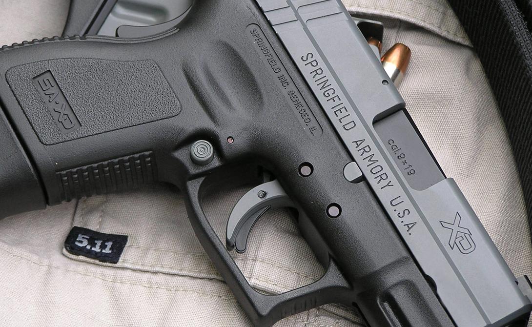 HS2000/XD Хорватская компания HS Produkt D. o. o. показала модель HS2000/XD только в прошлом году. Полимерный каркас, увеличенная емкость магазина, крепление под фонарь — неудивительно, что пистолет сразу полюбили во многих полицейских подразделениях по всему миру.