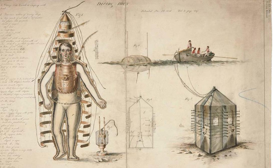 Кессон и насос Чуть позже, в 1689 году, были изобретены некоторые усовершенствования колокола. Кессон позволял создавать свободную от воды камеру, а Дени Папен дополнил колокол поршневым насосом, благодаря которому воздух в камере восполнялся.