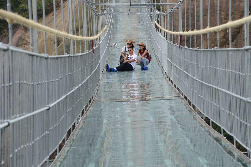 Фактор страха Естественно, всего предусмотреть не могут даже лучшие инженеры планеты. В прессе неоднократно появлялись опасения о ненадежности моста, структуру которого и в самом деле может нарушить землятресение.