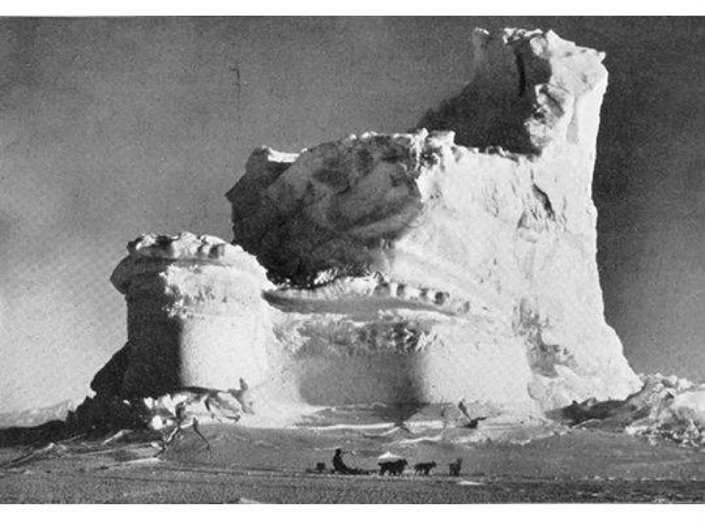 Агрессивный режим Маршрут Амундсена был гораздо сложнее: перевал Трансантарктических гор до Полярного плато и затем рывок к самому Южному полюсу. Его команда насчитывала всего 5 человек, зато целых 50 собак. Бравый исследователь готовился использовать животных в пищу.