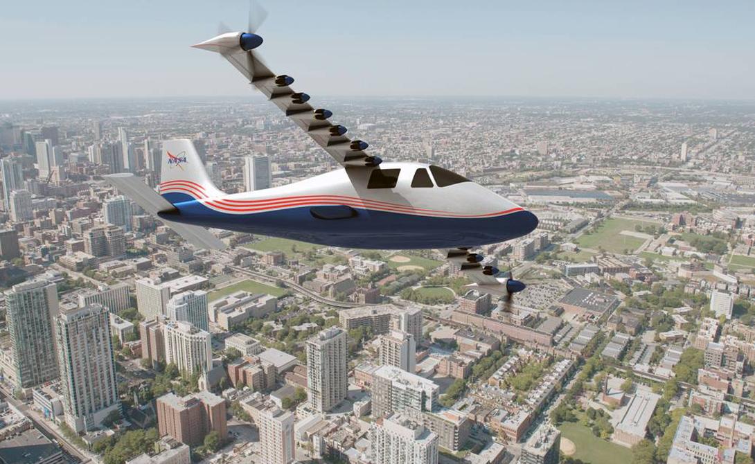 X-57 Maxwell И это еще не все. Ранее в этом месяце НАСА продемонстрировали первый в мире электрический самолет, работающий от 14 специальных батарей, способных заряжаться от возобновляемых источников энергии. Даже новая сверхзвуковая струя будет гореть только на низкоуглеродных видах биотоплива.