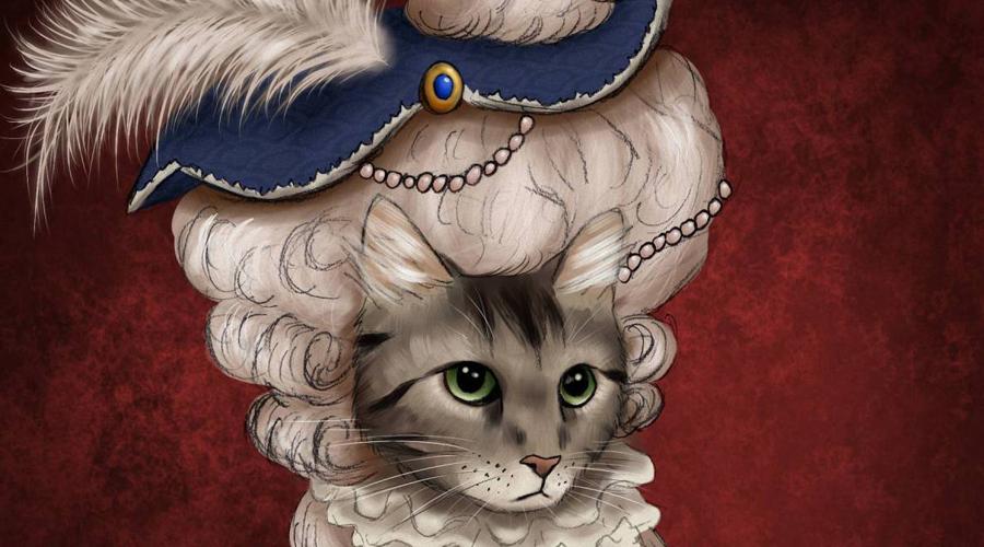 Мария-Антуанетта Все женщины испытывают слабость перед кошками, но французская королева была ими просто одержима. При дворе Марии-Антуанетты в Версале бродило столько животных, что посетители поражались количеству нечистот, с которыми не поспевала справиться целая армия слуг. Перед казнью на гильотине королева пожелала даровать своим кошкам пожизненный пансион, что и было исполнено.