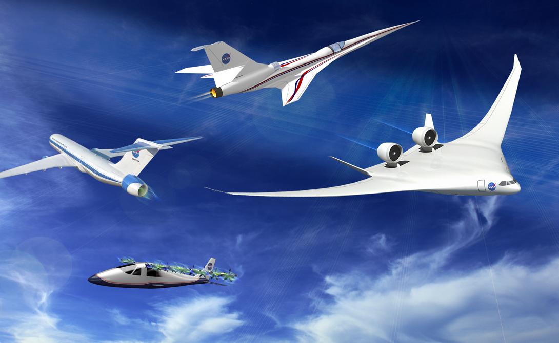 Новые горизонты В рамках новой программы НАСА заявили о внедрении послевоенных разработок в гражданскую авиацию. То есть в перспективе у США появятся лайнеры, способные развивать немыслимую скорость. Единственным минусом таких полетов остается сверхзвуковой барьер, преодоление которого просто оглушительно.